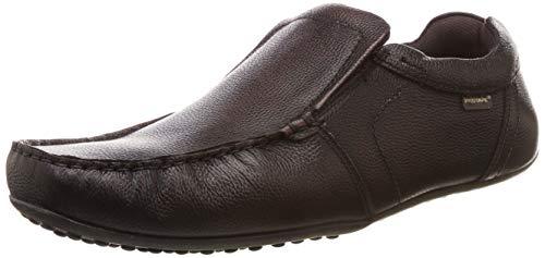 Red Tape Men's RTE1452 Cocoa Leather Moccasins-9 UK/India (43 EU) (RTE1452-9)