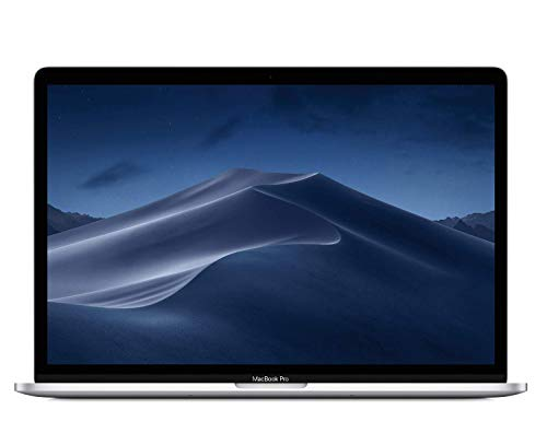 Apple MacBook Pro (15-inch, Retina 4K Display, 2.3GHz 8-core 9th-Generation IntelCorei9 Processor, 512GB) - Silver