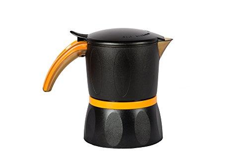 Credenza Per Microonde : Mamy caffettiera da per microonde microwave nera caffe moka espresso