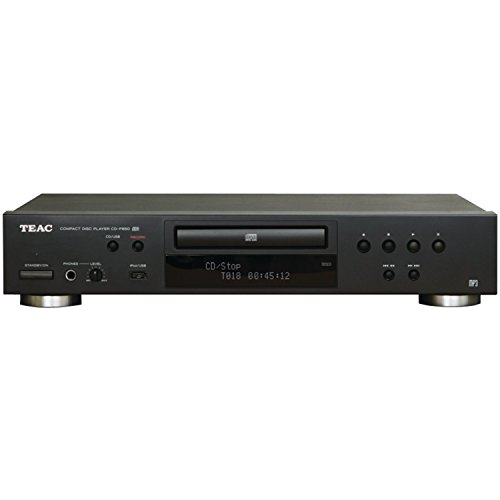 TEAC CD-P650-B Compact Disc Player with USB and iPod Digital Interface