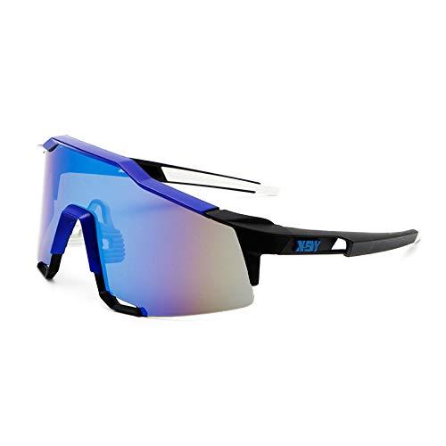 XiuFen Cycling Sunglasses Photochromic Bike Glasses for Men Women, Sports Goggles UV Protection Sunglasses for Driving Cycling Running Fishing Golf Outdoor Eyewear Black Frame