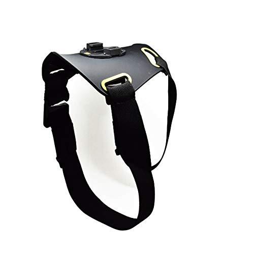 Roa, pettorina per cani per GoPro Hero e la maggior parte delle action camera con fibbia a sgancio rapido e cinghie con vista POV