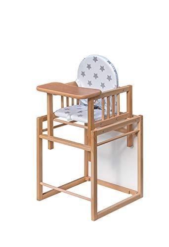 Best For Kids - Seggiolone combinato Victoria Sterne - facile da convertire per la combinazione di tavolo e sedie, alta qualità