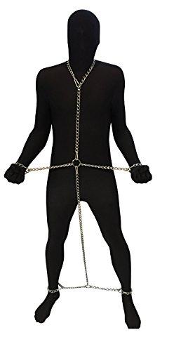 Bondage Stahl Erotik Ketten Pranger Fesseln Fesselset Handfesseln Fußfesseln Halsband