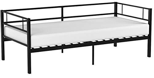 Aingoo Day Bed Letto Singolo in Ferro con Struttura in Metallo 90 * 190 cm per Soggiorno Camera da...