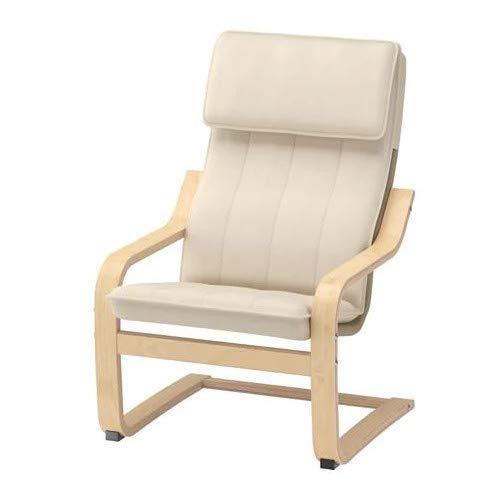 IKEA Poäng - Poltrona cantilever per bambini, in legno di betulla, con rivestimento lavabile