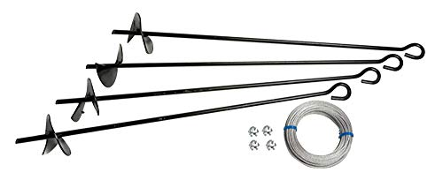 Arrow Shed Earth Anchor Kit