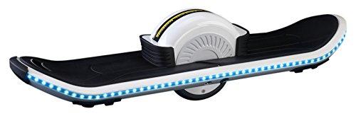 Ethon ETH-SBS-00101 Skateboard elettrico, giocattolo, colore: bianco