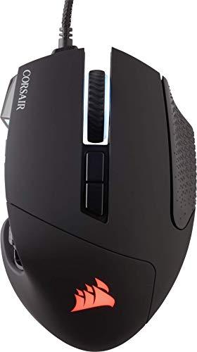 Corsair Scimitar Pro RGB - Ratón óptico para juegos (retroiluminación...