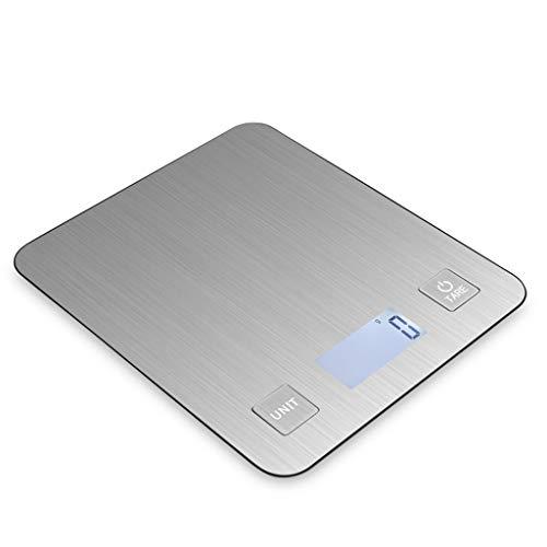 Bilancia da cucina Digital Kitchen Bilance, Bilance da cucina Premium in acciaio inossidabile, Ultra...