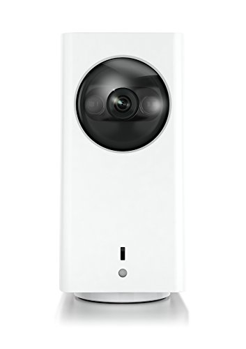 iSmart Alarm iCamera Keep Videocamera di Sorveglianza per Sistema di Sicurezza, Bianco