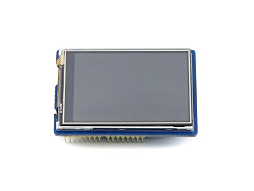 WENDi 2.8inch 320 * 240 TFT Touch Screen Touch LCD Shield for Arduino Uno, Leonardo, Uno Plus,with Micro SD Slot, SPI Interface