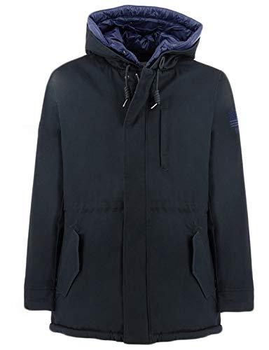 Penn-Rich Woolrich Cotton Eskimo Blu L