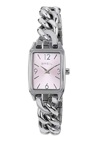 Orologio BREIL donna NIGHT OUT quadrante rosa e bracciale in acciaio, movimento SOLO TEMPO - 2H QUARZO