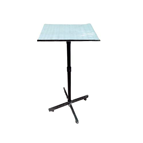 Sii Space Saving Portable / 5 feet Height Adjustable Laptop and Projector Stand/Desk/Study Table Black