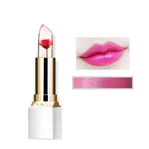 Futaba Natural Long Lasting Flower Jelly Lipsticks - Dark Pink