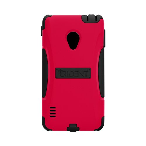 Trident Case AEGIS Series Protective for LG Lucid2 - Retail Packaging - Red