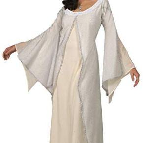 Señor de los Anillos - Arwen Damas de Disfraces Vestido de Princesa elfa, un tamaño 40/42