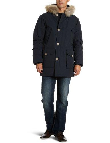 Canadian Classics - Parka regular fit con cappuccio, manica lunga, uomo, Blu (Blau (Navy)),  ML (IT 50))