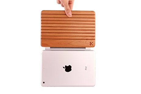 Woodcessories-EcoGuard-iPad-Case-Premium-Design-Cover-Hlle-fr-das-iPad-Mini-1-2-3-4-aus-echtem-Holz-Kirsche