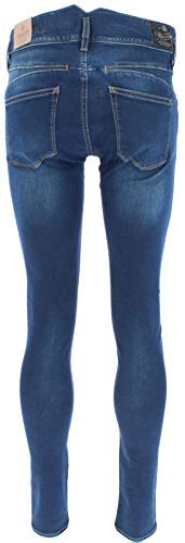 Herrlicher Damen Jeans Pearl Slim, Blau (Clean 051), W32/L32