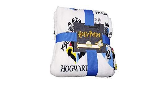 Licenza_Primark Coperta da viaggio in pile super morbido, motivo: Harry Potter Corvonero, idea...