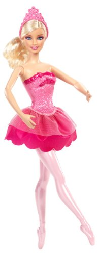 Barbie in The Pink Shoes Ballerina Doll, Pink Dress
