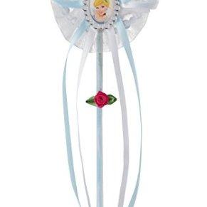 Princesas Disney - Varita de Cenicienta, color azul, Talla única (Rubie's 8461)