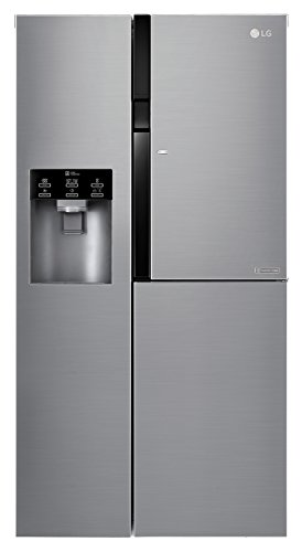 LG GSJ561PZUZ 591L A++ Stainless steel side-by-side refrigerator - Side-By-Side Fridge-Freezers...