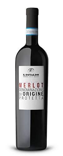 Merlot Dop Lison Pramaggiore 75 Cl S.Osvaldo - Vino Rosso Fermo