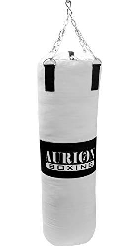 Aurion 9777 Canvas Punching Bag, 24-inch (Black)