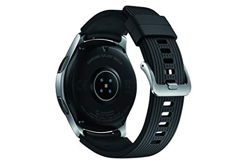 Samsung SM-R800 Galaxy Montre, 46 mm Argent- Import 6