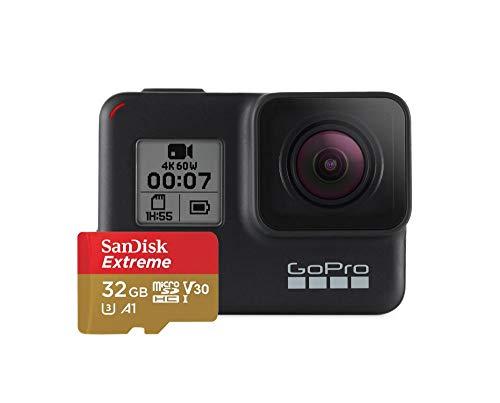 GoPro Telecamera HERO7 Black Unisex-Adult