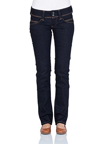Pepe Jeans Damen Straight Leg Jeans Venus, Blau (PL200029M15), W29/L34