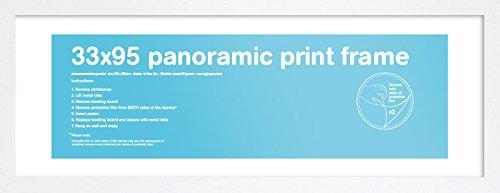 GB Eye LTD, Blanc - Panoramique, 33x95cm - Eton, Cornice