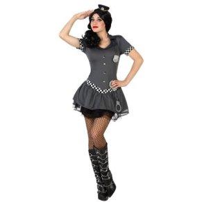 Atosa - Disfraz Mujer Policia Gris (M-L)