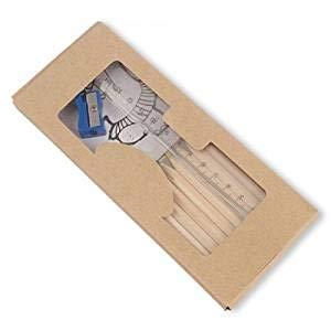 Confezione di 10astucci con matite di colori + Libro da colorare + Righello + temperamatite....