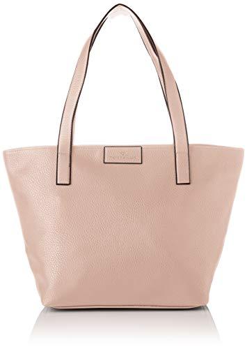 TOM TAILOR Shopper Damen Miri Zip, Rot (Rose), 17.5x28x36 cm,Tasche Damen