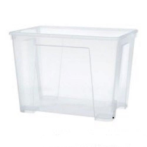 Ikea Samla Scatola 11 Litri Plastica Trasparente 28 X 39 X 14 Cm