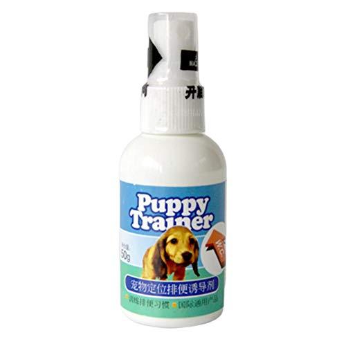 Spray per Addestramento Animali Domestici 50ML, Spray per Addestramento Cani, Toilette Fissa per Allenamento, Agente Esca per Animali, Induttore per Cani