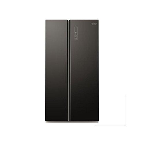 Hotpoint sxbd 925 °F WD Frigorifero affiancato (Freestanding americano, vetro, 515 L, 47 dB), Nero