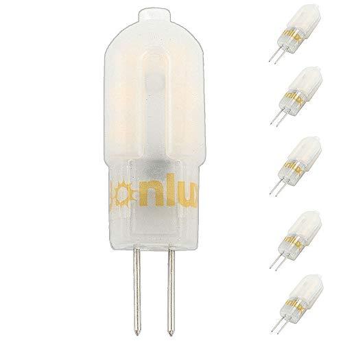 Bonlux G4 12V LED Lampadina 3W Bianco Fredda 6000K LED G4 Capsule 25W Lampada Alogena Sostitutiva...