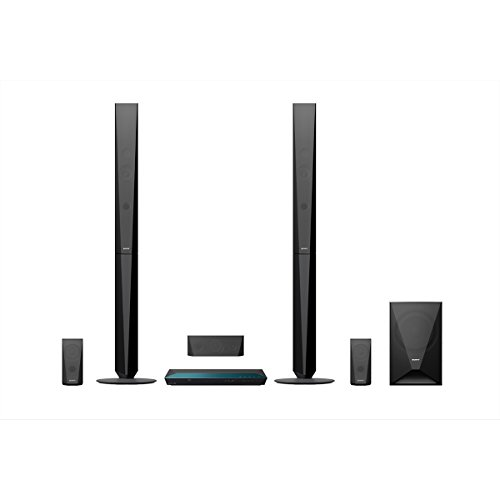 Sony BDV-E4100Sistema di Home Cinema Blu-Ray 3D, Nero
