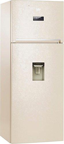 Beko RDNE455E20DB frigorifero con congelatore Libera installazione Beige 389 L A+