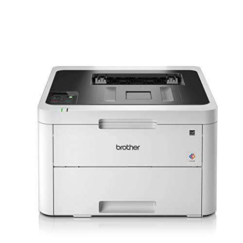 Brother HLL3230CDWYY1 Stampante a Colori LED, 18 ppm, Stampa Fronte-Retro, Wi-Fi, Ethernet, USB 2.0...