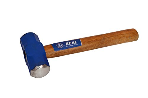 REAL stf Steel Sledge Hammer Wooden Handle (1 lb)