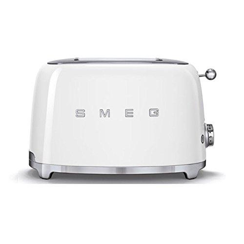 Smeg TSF01WHEU Grille-pain 950 W, Blanc