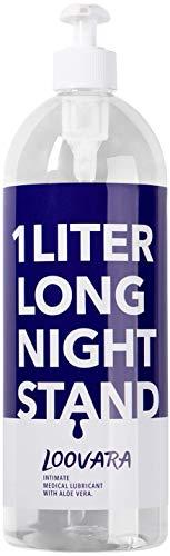 Loovara Gleitgel XXL Sensitiv (1000ml) mit Aloe Vera | kondomgeeignet, für sensible Haut, ph-optimiert, dermatologisch getestet | natürliche Inhaltsstoffe, auf Wasserbasis