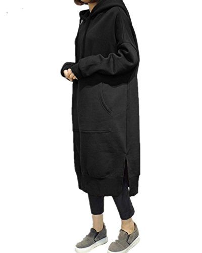 f4854785b18 StyleDome Women s Hoodies Jumper Long Tops Coat Plus Size Pullover ...