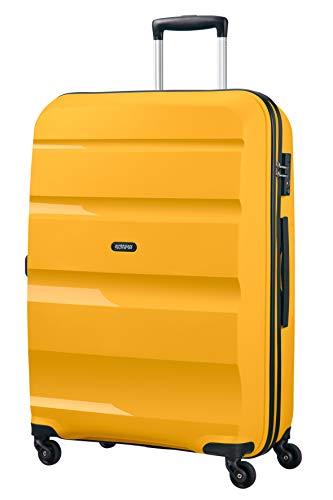 American Tourister Bon Air, Spinner Large Valigia, 75 cm, 91 liters, Giallo (Light Yellow)
